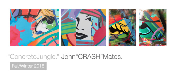 """Concrete Jungle."" John ""CRASH"" Matos."