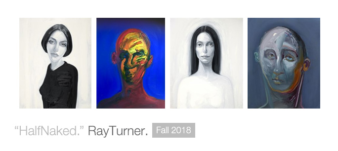 """Half Naked."" Ray Turner."